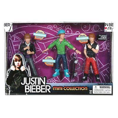 Джастин Бибер - коллекционные фигурки (Justin Bieber - Mini Doll Figure Collection) (фото, вид 1)