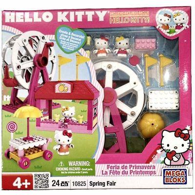 Хелло Китти - Весенняя ярмарка - Мега блок (Hello Kitty - spring fair - Mega Bloks ) (фото, вид 1)