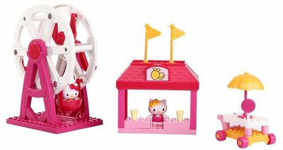 Хелло Китти - Весенняя ярмарка - Мега блок (Hello Kitty - spring fair - Mega Bloks ) (фото, вид 2)