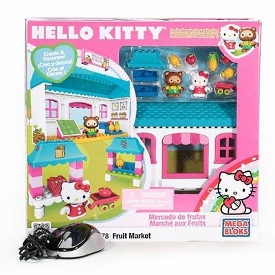 Хелло Китти - Фруктовый рынок - Мега блок (Hello Kitty - Fruit Market - Mega Bloks) (фото, вид 2)