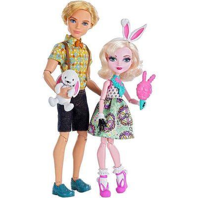 """Алистер Вандерленд и Банни Бланк - набор """"Карнавал"""" (Carnival Date Doll 2-Pack - Bunny Blanc and Alistair Wonderland) (фото, вид 1)"""