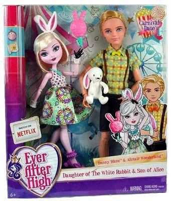 """Алистер Вандерленд и Банни Бланк - набор """"Карнавал"""" (Carnival Date Doll 2-Pack - Bunny Blanc and Alistair Wonderland) (фото, вид 2)"""