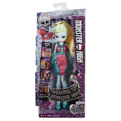 Лагуна Блю - Добро пожаловать в Монстр Хай: Танцы с перепугу (Lagoona Blue - Monster High Welcome to Monster High Dance the Fright Away Doll with DVD) (фото, вид 2)