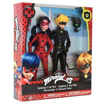 Леди Баг и Кот Нуар - Набор (Ladybug and Cat Noir - Fashion Doll 2-Pack) (фото, вид 2)