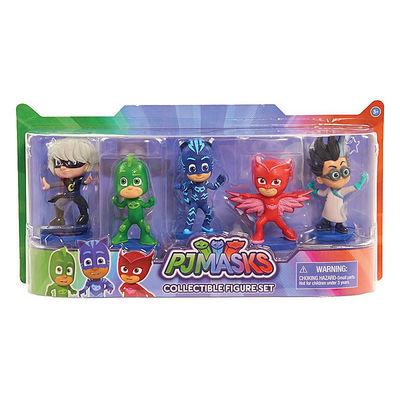 Коллекционные фигурки - Герои в масках (PJ Masks Collectible Figure Set) (фото, вид 1)