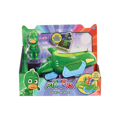 Гекко и автомобиль (PJ Masks Gekko Mobile Vehicle) (фото, вид 1)