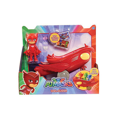 Алет и автомобиль (PJ Masks Owlette Flyer Vehicle) (фото, вид 1)