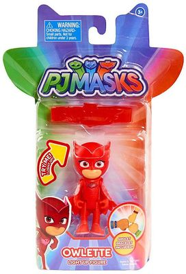 Алет и браслет (PJ Masks 3 inch Light Up Figure - Owlette) (фото, вид 1)