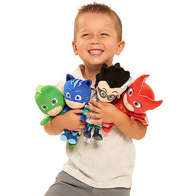 Мягкая игрушка - Ромео (20 см.) (PJ Masks Mini Stuffed Romeo) (фото, вид 1)