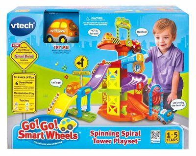 Конструктор - Вращающаяся Спираль (VTech Go! Go! Smart Wheels Spinning Spiral Tower Playset) (фото, вид 2)