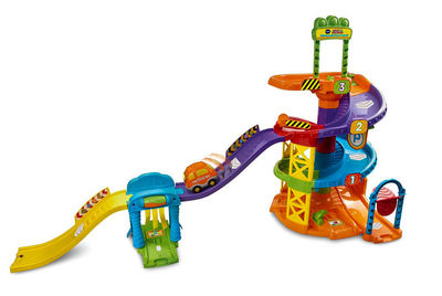 Конструктор - Вращающаяся Спираль (VTech Go! Go! Smart Wheels Spinning Spiral Tower Playset) (фото, вид 3)