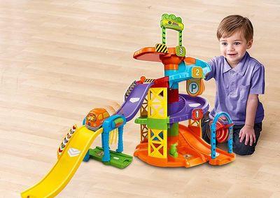 Конструктор - Вращающаяся Спираль (VTech Go! Go! Smart Wheels Spinning Spiral Tower Playset) (фото, вид 4)