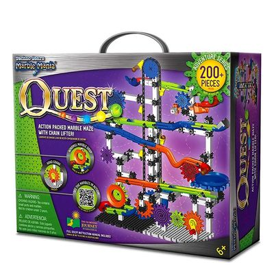 Конструктор - Техно Шестерни (The Learning Journey Techno Gears Marble Mania Quest (200+ pcs)) (фото, вид 2)