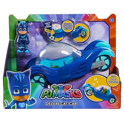 Кэт Бой и автомобиль - Deluxe (PJ Masks Deluxe Cat-Car Vehicle) (фото, вид 2)