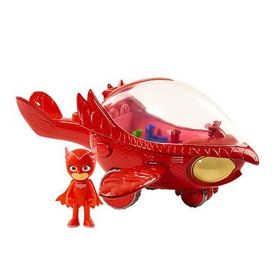 Алет и автомобиль - Deluxe (PJ Masks Deluxe Owlette's Owl-Glider Vehicle) (фото, вид 1)