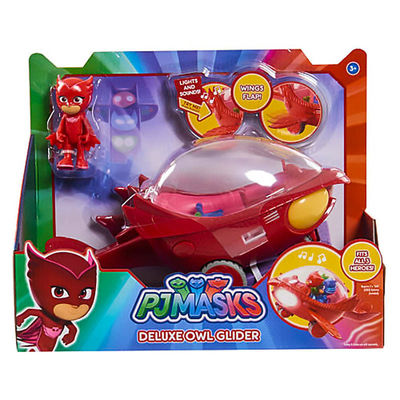 Алет и автомобиль - Deluxe (PJ Masks Deluxe Owlette's Owl-Glider Vehicle) (фото, вид 2)