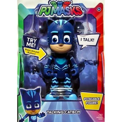 "Кэт Бой - фигурка ""Deluxe"" (PJ Masks Deluxe Talking Cat Boy Figure) (фото, вид 1)"