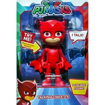 "Алет - фигурка ""Deluxe"" (PJ Masks Deluxe Talking Owlette Figure) (фото, вид 1)"