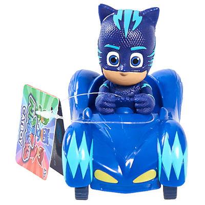 Кэт Бой и автомобиль - Mini (PJ Masks Mini Wheelie Vehicle Cat-Car - Catboy) (фото, вид 1)
