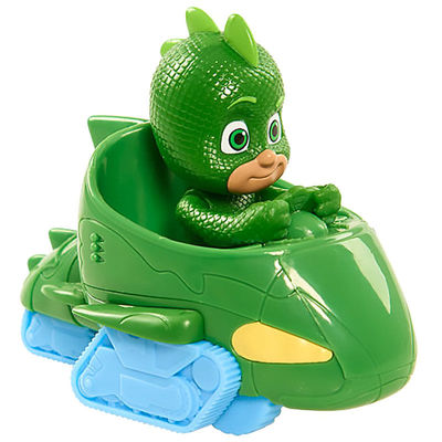 Гекко и автомобиль - Mini (PJ Masks Mini Wheelie Vehicle Gekko-Mobile - Gekko) (фото, вид 1)