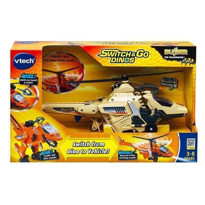 Дино-Трансформер - Велоцираптор (Специальное Издание) (VTech Switch & Go Dinos - Blister The Velociraptor Dinosaur - Special Edition) (фото, вид 3)