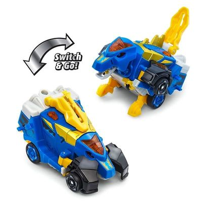 Дино-Трансформер - Круз и Спиннер (VTech Switch & Go Dinos - Bipedal Turbo Dinos 2-pack with Cruz and Spinner) (фото, вид 1)