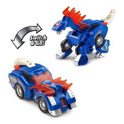 Дино-Трансформер - Куивер и Стомпсалот (VTech Switch & Go Dinos - Incredible Speed Dinos 2-pack with Quiver & Stompsalot) (фото, вид 1)
