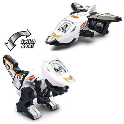 Дино-Трансформер - МК Рев и Аллазавр (VTech Switch & Go Dinos - Animated Dinos 2-pack with MC Roar and SkySlicer) (фото, вид 2)
