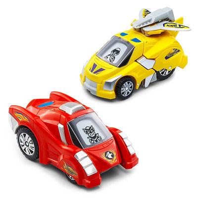 Дино-Трансформер - Т-Дон и Тонн (VTech Switch & Go Dinos - Animated Dinos 2-pack with T-Don and Tonn) (фото, вид 1)