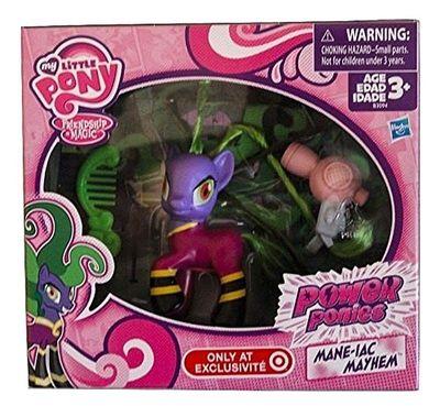 Пони Мэйн-иак - беспредел (Power Ponies Mane-iac Mayhem Exclusive) (фото, вид 1)