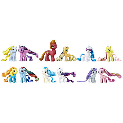 Коллекция пони - Фестиваль Дружбы (My Little Pony the Movie Friendship Festival Party Friends Collection Pack) (фото, вид 1)