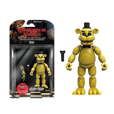 Фредди золотой (голден) (Funko Five Nights at Freddy's Articulated Golden Freddy) (фото, вид 1)