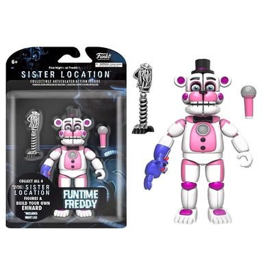 Фредди веселый (фантайм) (Funko Five Nights Fun Time Freddy Articulated) (фото, вид 1)