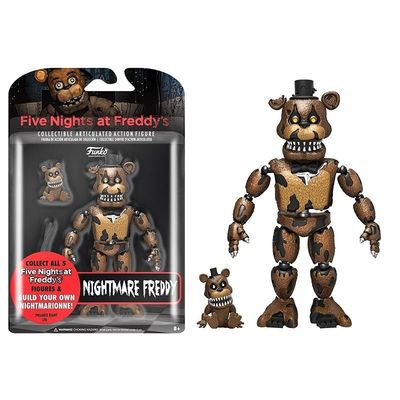 Фредди кошмарный (Funko Articulated Five Nights at Freddy's - Nightmare Freddy) (фото, вид 1)