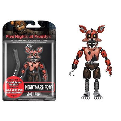 Фокси Кошмарный Лис - пират (Articulated Five Nights at Freddy's - Nightmare Foxy) (фото, вид 1)
