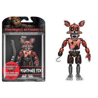 Фокси Кошмарный Лис - пират (Articulated Five Nights at Freddy's - Nightmare Foxy) (фото, вид 1)