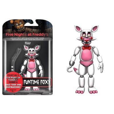 Фокси Веселый фантайм (Funko Five Nights At Freddy's Fun Time Foxy Articulated) (фото, вид 1)