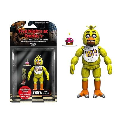 Чика (Funko Five Nights at Freddy's Articulated Chica) (фото, вид 1)