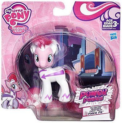 Пони Пинки Пай секунда - могучие Пони (My Little Pony POWER PONIES Exclusive Fili-Second Pinkie Pie) (фото, вид 1)