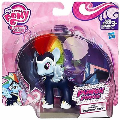 Пони Радуга Дэш - могучие пони (My Little Pony Friendship is Magic Power Ponies - Rainbow Dash) (фото, вид 1)