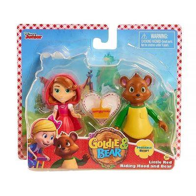 Мишка и Красная Шапочка - Голди и Мишка (Disney Junior Goldie & Bear Character Duet Set - Bear and Little Red) (фото, вид 1)