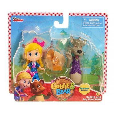 Голди и большой плохой Волк - Голди и Мишка (Disney Junior Goldie & Bear Character Duet Set - Goldie and Big Bad Wolf) (фото, вид 1)