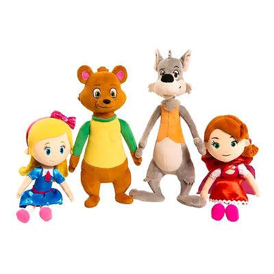 Мишка плюш - Голди и Мишка (Disney Junior Goldie and Bear Mini Plush - Bear) (фото, вид 1)