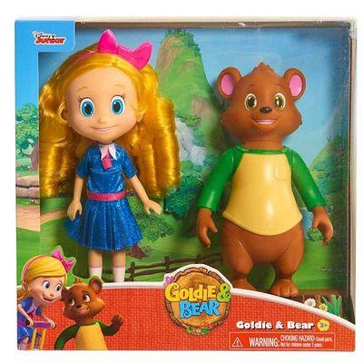 Куклы Голди и Мишка (Disney Junior Goldie and Bear Doll) (фото, вид 1)