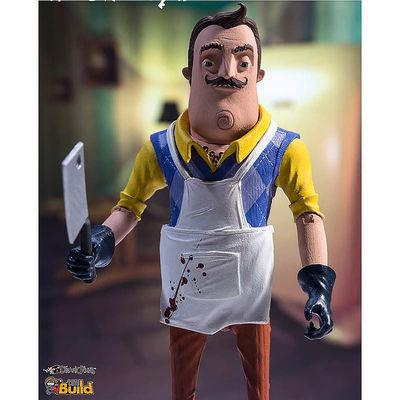 Игрушка Привет Сосед - Сосед (Мясник) фигурка (McFarlane Toys Hello Neighbor The Neighbor (Butcher) Action Figure) (фото, вид 1)