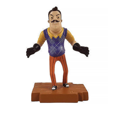 Набор из 3-х фигурок Привет сосед (Hello Neighbor 3-piece Figurine Box Set Series One - Complete Playset of 3 Toy Figures) (фото, вид 1)