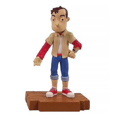 Набор из 3-х фигурок Привет сосед (Hello Neighbor 3-piece Figurine Box Set Series One - Complete Playset of 3 Toy Figures) (фото, вид 2)