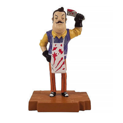 Набор из 3-х фигурок Привет сосед (Hello Neighbor 3-piece Figurine Box Set Series One - Complete Playset of 3 Toy Figures) (фото, вид 3)