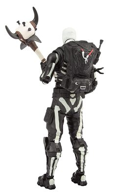 Скелет-патрульный солдат премиум Фортнайт (McFarlane Toys Fortnite Skull Trooper Premium Action Figure) (фото, вид 2)