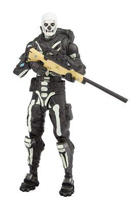 Скелет-патрульный солдат премиум Фортнайт (McFarlane Toys Fortnite Skull Trooper Premium Action Figure) (фото, вид 3)